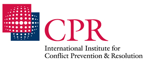 CPR International Institute for Conflict Prevention and Resolution